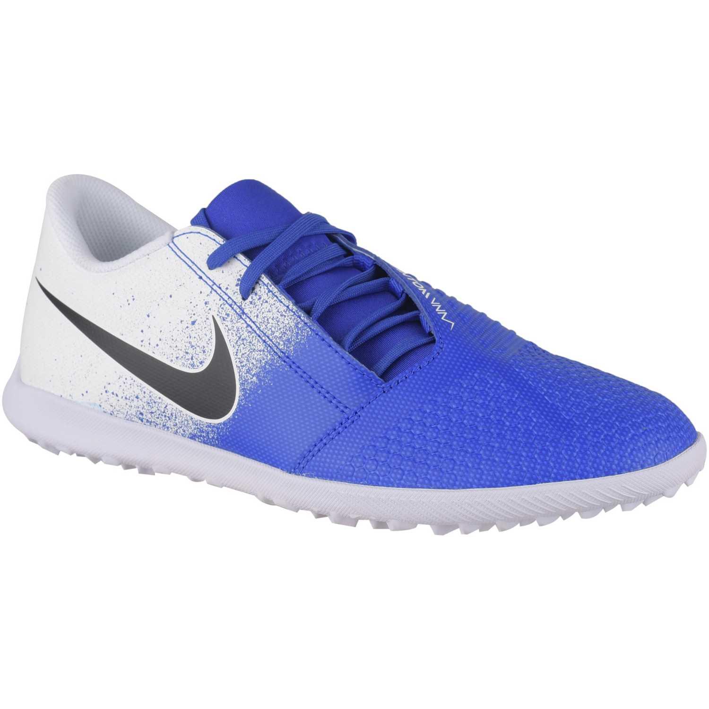 Zapatilla de Hombre Nike Blanco / azul phantom venom club tf