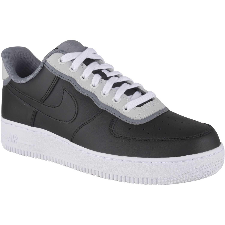 Zapatilla de Hombre Nike Negro / blanco air force 1 '07 lv8 1