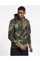 Nike Camuflado de Hombre modelo m nk sb hoodie icon erdl Deportivo Poleras