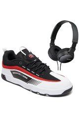 DC Negro / rojo de Hombre modelo legacy98 slm+promo audifonos sony Casual Deportivo Urban Walking Zapatillas