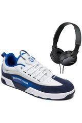DC Negro / azul de Hombre modelo legacy98 slm+promo audifonos sony Casual Deportivo Urban Walking Zapatillas