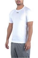 Fila Blanco de Hombre modelo camiseta masc. fila action Deportivo Polos