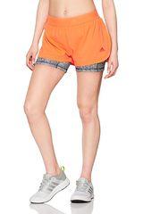 Adidas Anaranjado de Mujer modelo 2IN1 SHORT W PR Shorts Deportivo