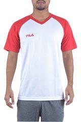 Fila Blanco de Hombre modelo camiseta masc. fila vitalli ii Deportivo Polos