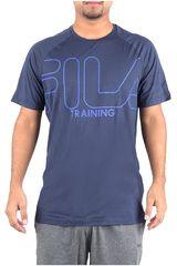 Fila Navy de Hombre modelo camiseta masc. fila train essential Deportivo Polos