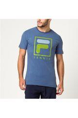 Fila Azul de Hombre modelo camiseta masc. fila soft urban Polos Deportivo