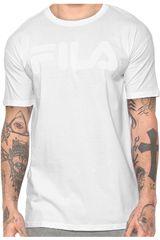 Fila Blanco de Hombre modelo camiseta masc. fila chroma Deportivo Polos