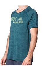 Fila Verde de Hombre modelo camiseta masc. fila hybrid print Polos Deportivo