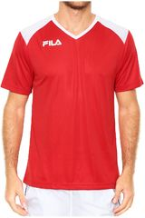 Fila Rojo de Hombre modelo masc. camiseta fila masc accetta ii Deportivo Polos