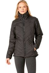 Casaca de Mujer The North Facew mossbud insulated reversible jacket Negro