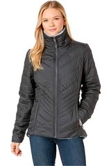 Casaca de Mujer The North Facew mossbud insulated reversible jacket Negro /gris