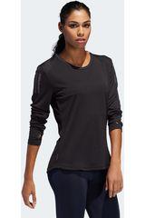 Adidas Negro de Mujer modelo own the run ls Deportivo Polos Poleras