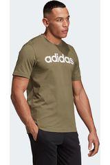 Adidas Verde de Hombre modelo e lin tee Deportivo Polos