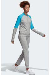 Adidas Gris de Mujer modelo wts new co mark Deportivo Buzos