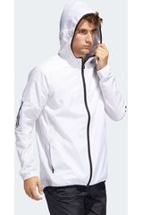 Casaca de Hombre Adidas Blanco m wind fz jkt