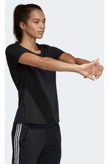 Polo de Mujer Adidas Negro d2m solid tee