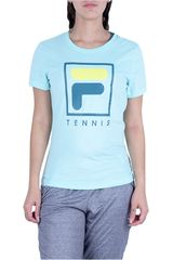 Fila Verde de Mujer modelo camiseta fem. fila soft urban Deportivo Polos