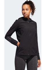 Adidas Negro / plomo de Mujer modelo response jacket Casacas Deportivo