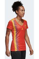 Camiseta de Mujer Adidas Naranja / amarillo FEF H JSY W