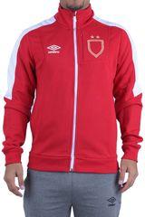 Umbro Rojo / blanco de Hombre modelo sash walkout jacket Casacas Deportivo