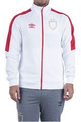 Umbro Blanco / rojo de Hombre modelo sash walkout jacket Casacas Deportivo