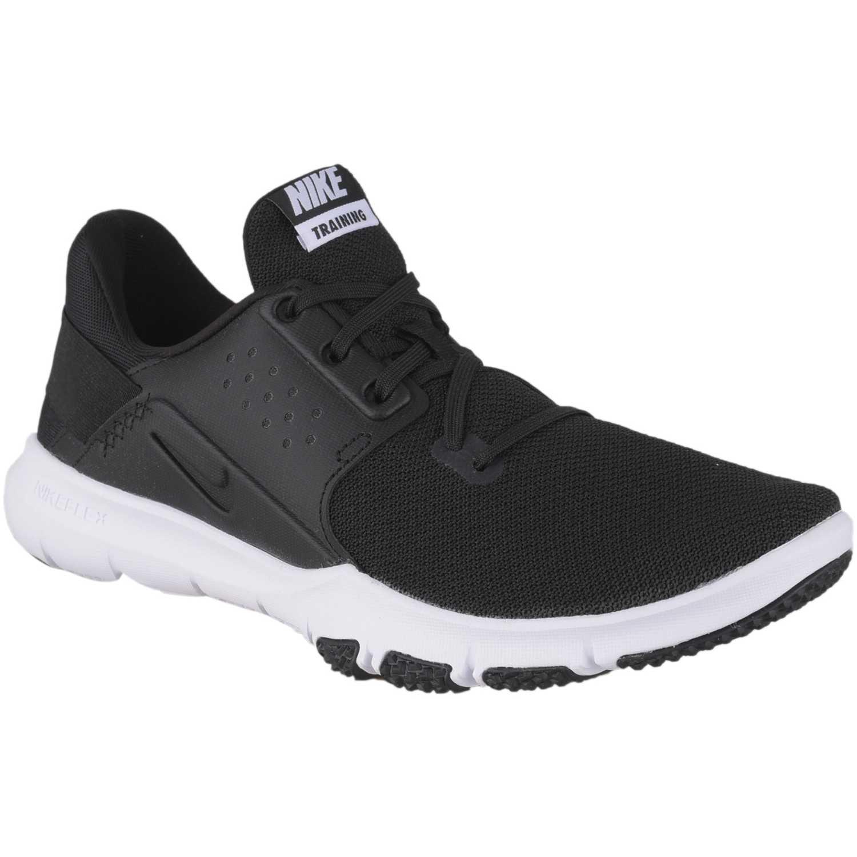 Zapatilla de Hombre Nike Negro / blanco nike flex control tr3