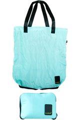 Bolso de Mujer BUBBAshopping bag bubba matte Celeste / negro