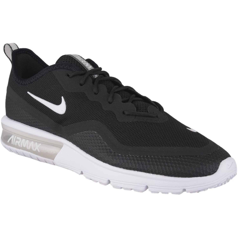 Zapatilla de Hombre Nike Negro / blanco nike air max sequent 4.5