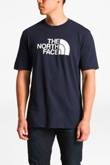 Polo de Hombre The North Facem s/s half dome tee Navy