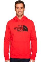 Polera de Hombre The North Face Rojo / negro m half dome pullover hoodie