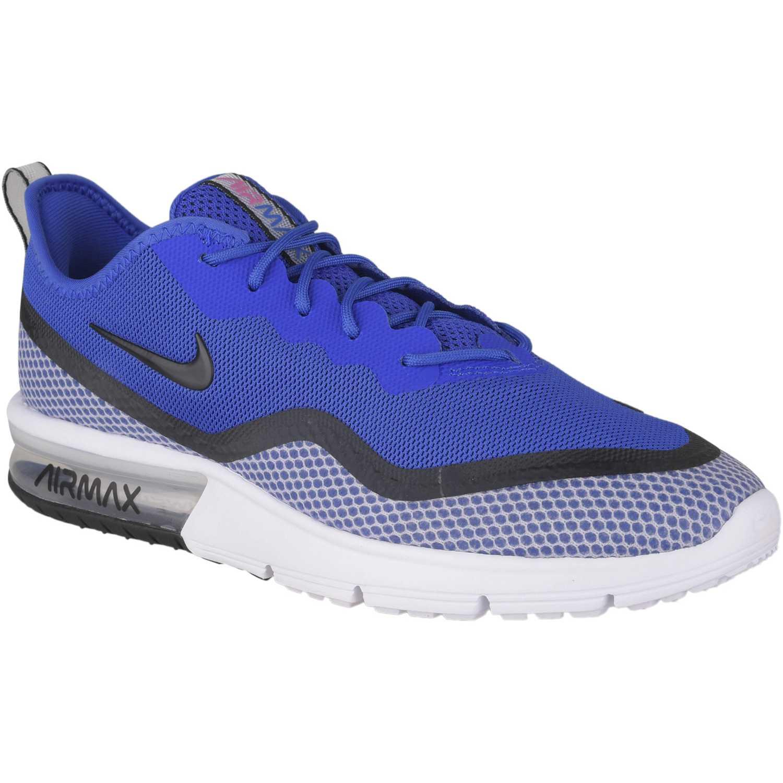 Zapatilla de Hombre Nike Azul / blanco nike air max sequent 4.5 se