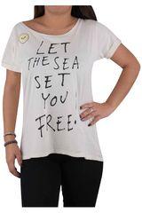 Polo de Mujer Roxy BIG ISLAND FREEDOM Beige